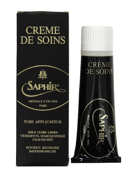 Крем  для любых высококачественных изделий  из гладкой кожи Crem de soins