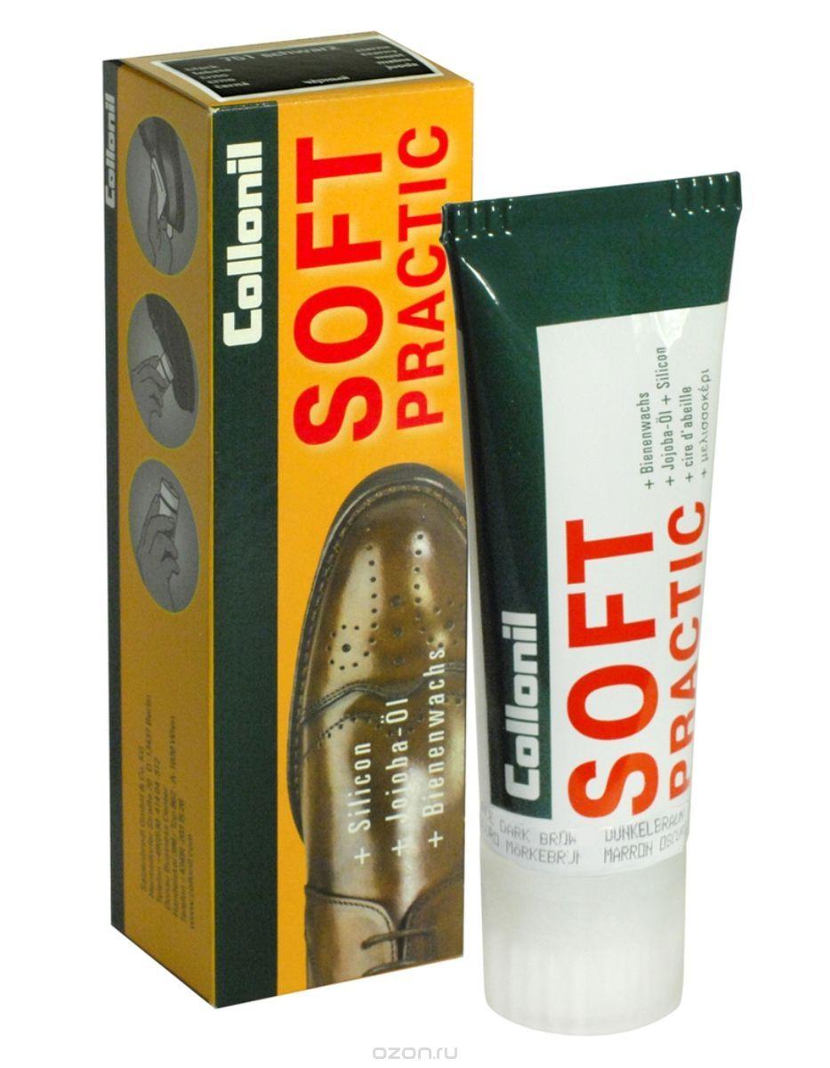 Крем для обуви Soft Practic с маслом жожоба