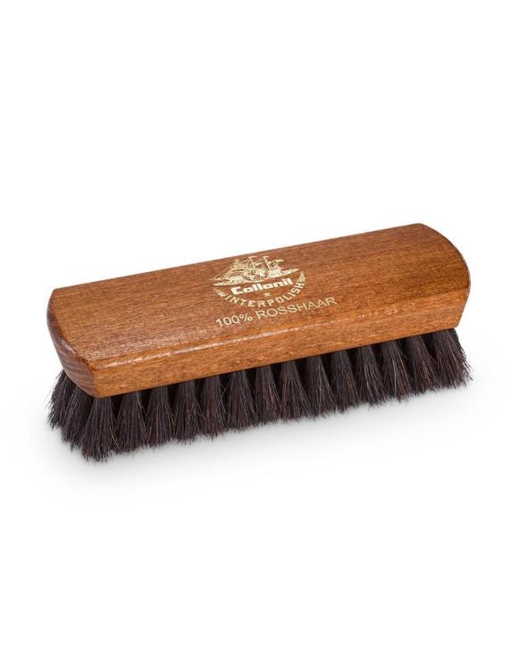 Щетка для чистки, полировки, нанесения  различных средств на гладкую кожу