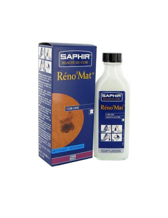 Очиститель для гладких кож Reno mat