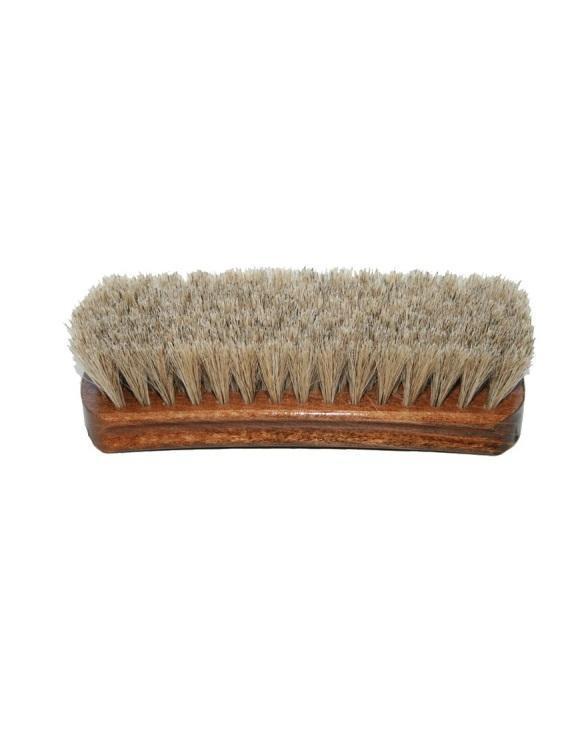 13630 SAPHIR Щетка для полировки обуви 17 см,  натуральный ворс, светлая щетина